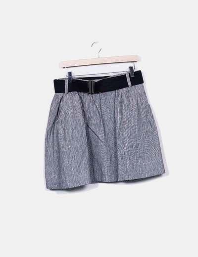 Striped midi skirt Pimkie