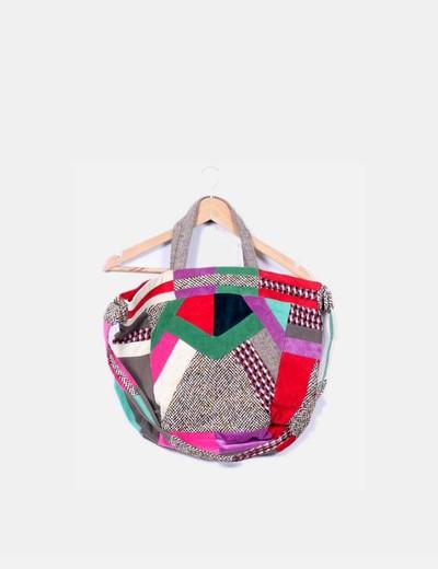 Bolso tipo patchwork Zara