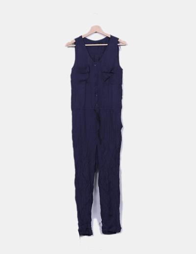 Mono azul marino Zara