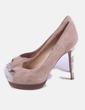 Zapato beige animal print Zara