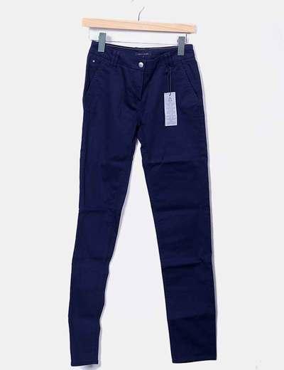 Pantalón pitillo azul marino Tommy Hilfiger