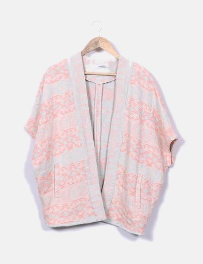 Kimono punto flúor