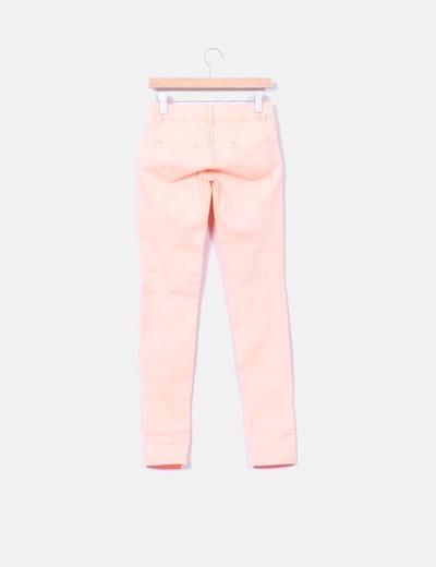 Pantalon naranja fluor