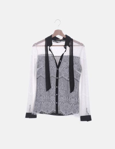 Camisa hilo doble capa