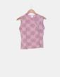 Top rosa estampado H&M