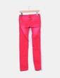 Jeans rojos  con desteñidos Terranova