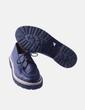 Zapatos blucher negros combinado esparto NoName