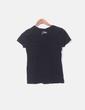 Camiseta negra print Mango