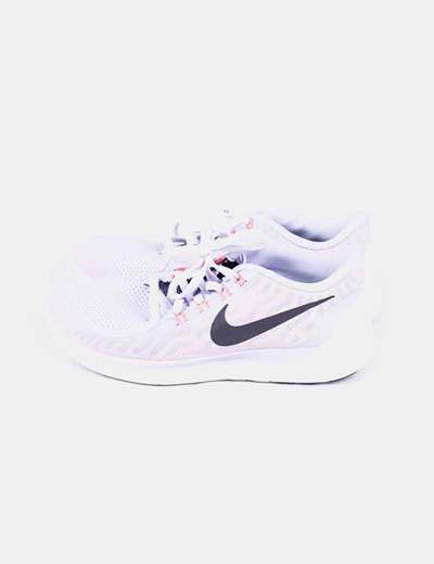Lilac running sneakers free 5.0 Nike