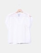 Blusa beige texturizada H&M