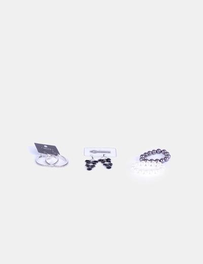 Conjunto de pendientes y pulseras Sfera