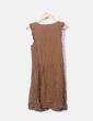 Vestido marrón estampado Pull&Bear