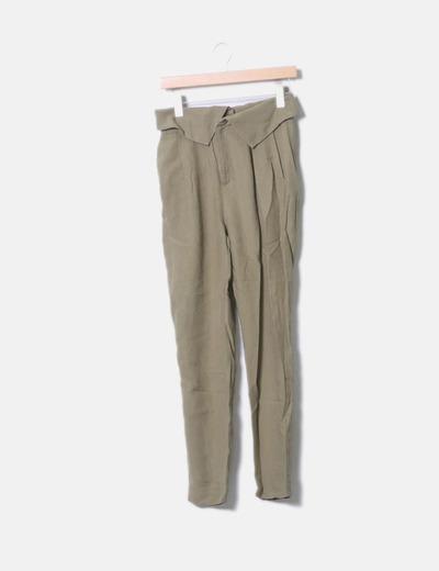 Pantalon khaki Mango