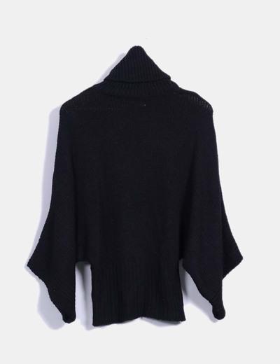 da936870e Jersey oversize negro de punto
