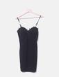 Black tight corset style dress NoName