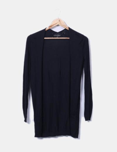 Chaqueta tricot negro New Look