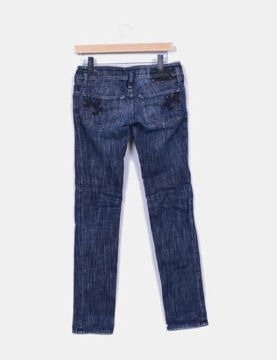 Jeans denim droit