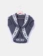 Chaleco tricot con broche NoName