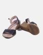 Sandalia negra pulsera Camper