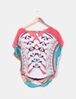Blusa estampado multicolor oversize Suiteblanco