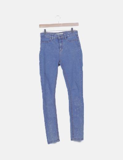 Jeans skinny desgastado