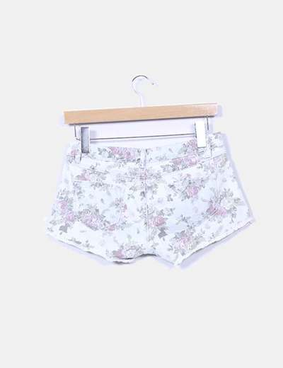 Shorts denim estampados