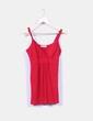 Top rojo con tirante ancho Fashion House