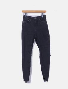 Jeans denim mom fit negro Topshop a31b6ac21705