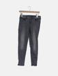 Pantalón gris efecto desgastado Zara