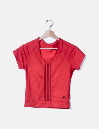 Camiseta roja de lycra