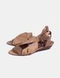 Sandalia combinada camel  Bimba&Lola