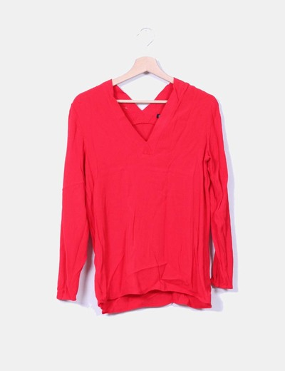Blusa roja Mango