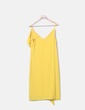 Vestido fluido amarillo volantes Primark