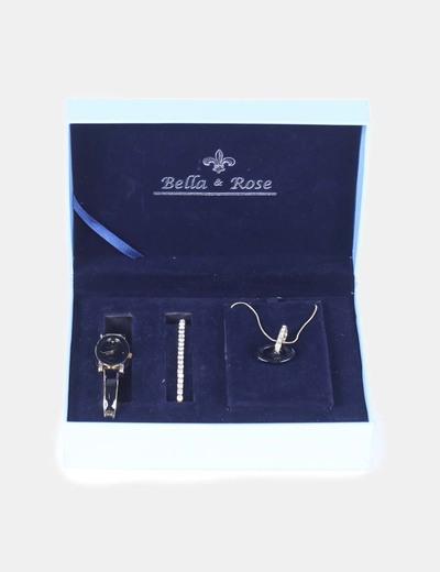 Conjunto de reloj, pulsera y colgante Bella&rose