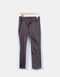 Pantalón marrón satinado Zara