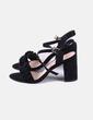Sandales noires Belles