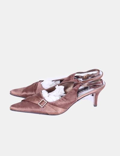 Zapato destalonado bronce NoName