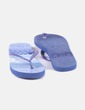 Chanclas azules estampadas Women'secret