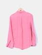 Camisa rosa de lino Banana Republic