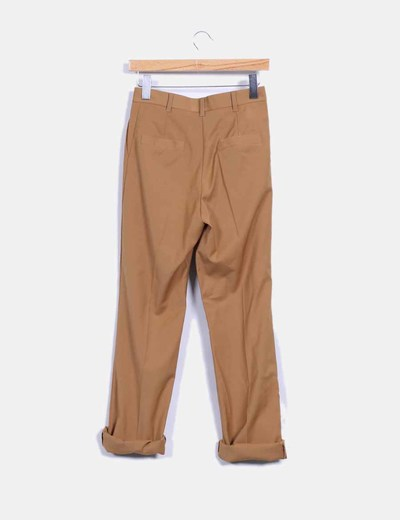 Pantalon camel de vestir