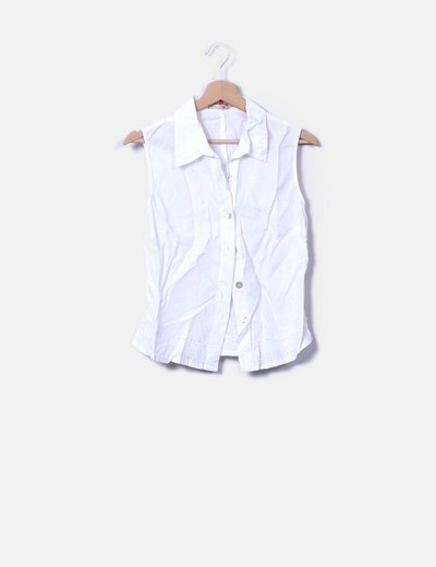 Camisa de lino blanca Farhas Day