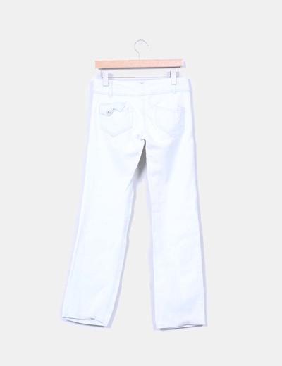 Pantalon denim claro