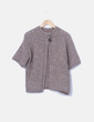 Chaqueta tricot beige S.TTILE