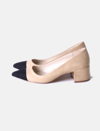 Zara Zara Zara Antelinadescuento Zapato Bicolor Bicolor Zapato Zapato 77Micolet Antelinadescuento 77Micolet W9DIYHe2E