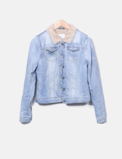 Veste double face en jeans ONLY
