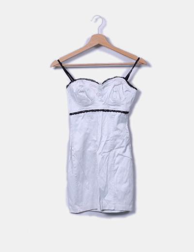 Vestido mini perla zara