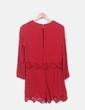 Mono crochet rojo Zara