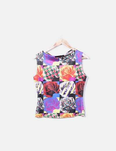 T-shirt multi-couleurs Miss Sixty