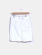Falda midi blanca Tommy Hilfiger