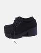 Zapato negro con cordón Coolway
